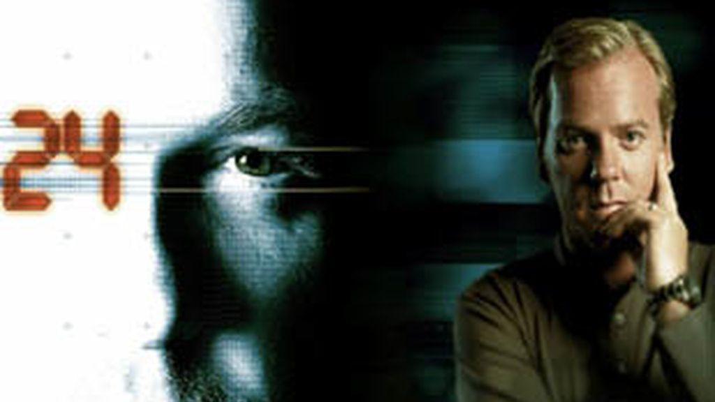 Kiefer Sutherland, protagonista de '24'.