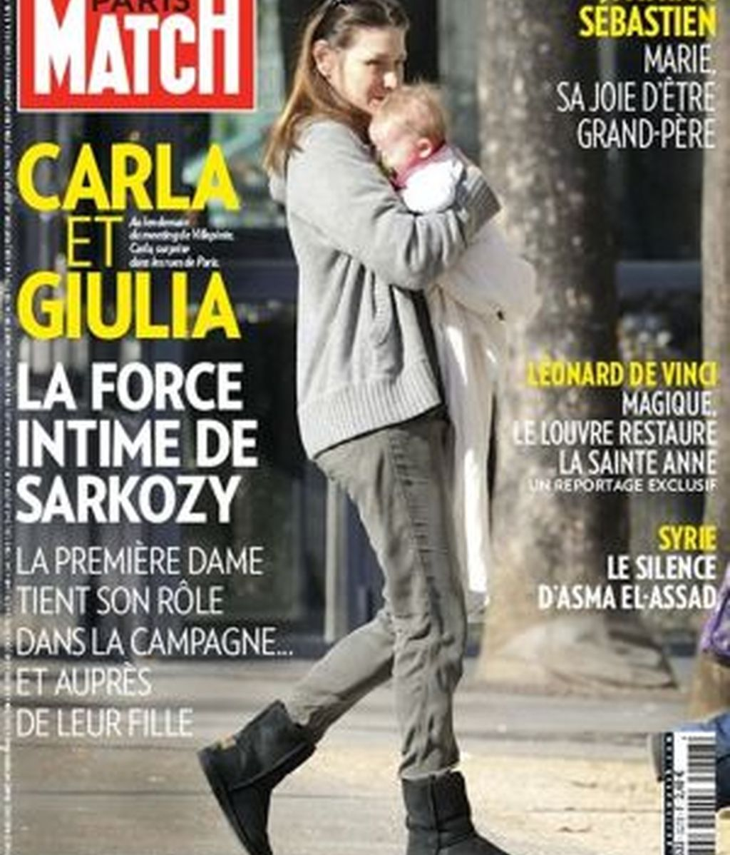 Paris Match Carla Bruni