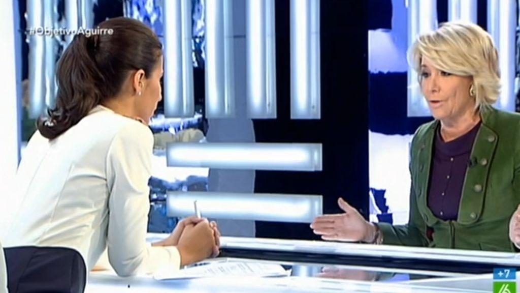Esperanza Aguirre en El Objetivo