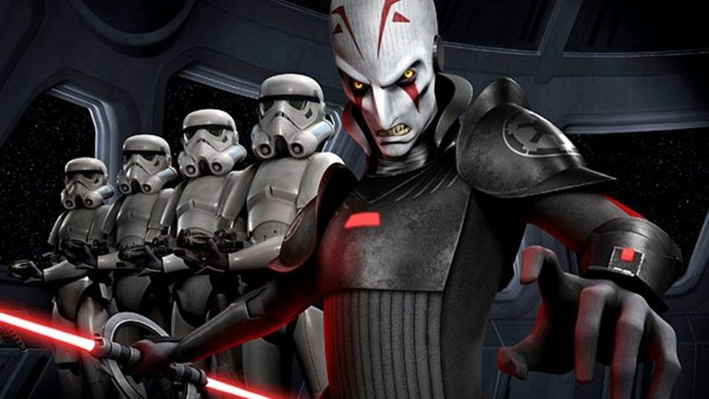 Así apareció The Inquisitor, el villano de 'Star Wars Rebels'