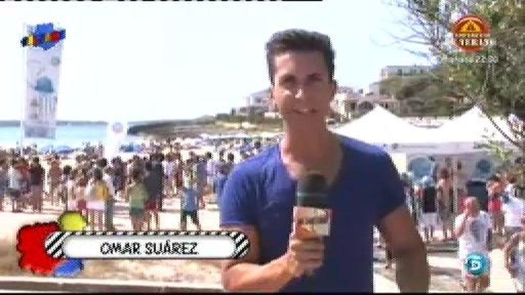 Sálvame ha estado con Mercedes Milá en la presentación de la campaña de limpieza de playas