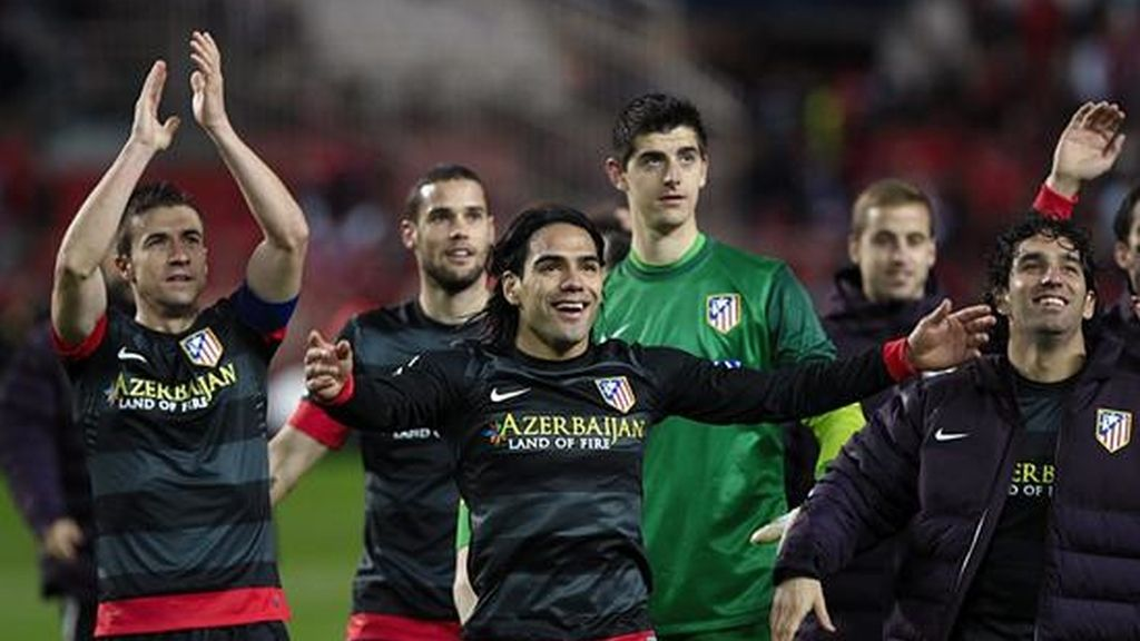 Atlético de Madrid gana al Sevilla