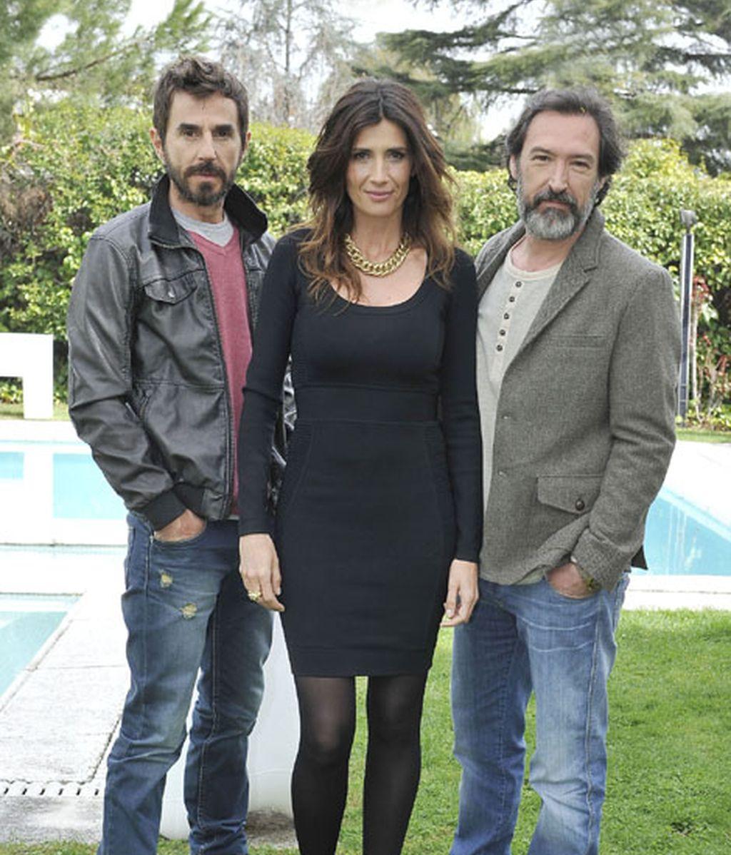 Pablo (Santi Millán) se reencuentra con su amigo Mario, al que interpretará Ginés García Millán