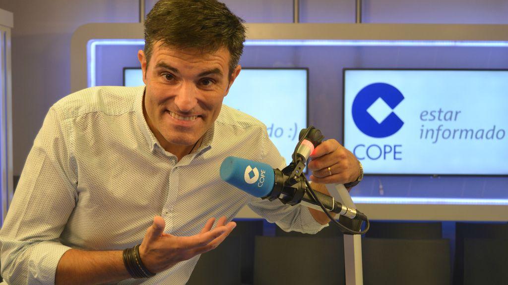 Luis Larrodera, presentador de COPE