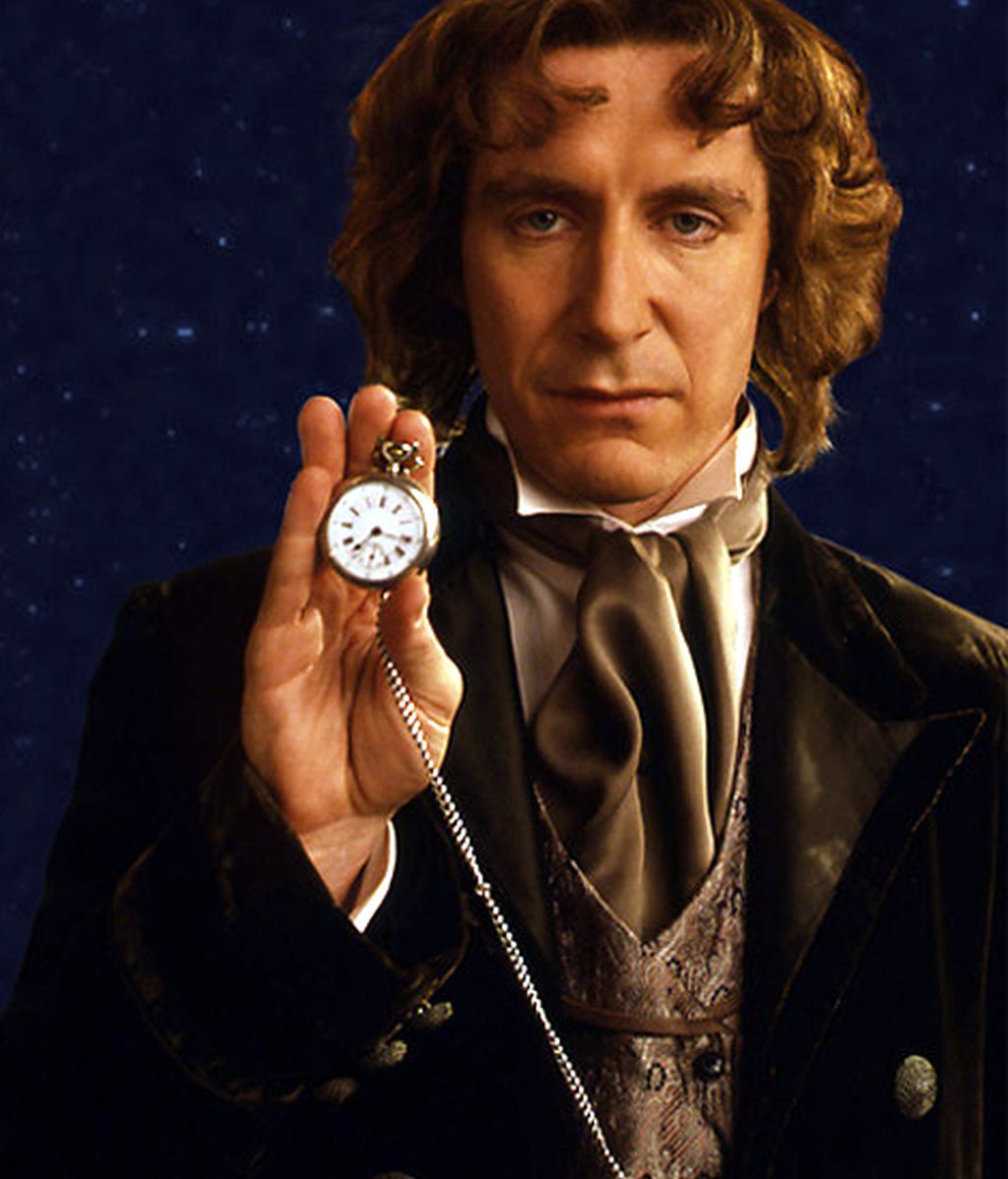Paul McGann, en 1996 con 'Doctor Who: la película'