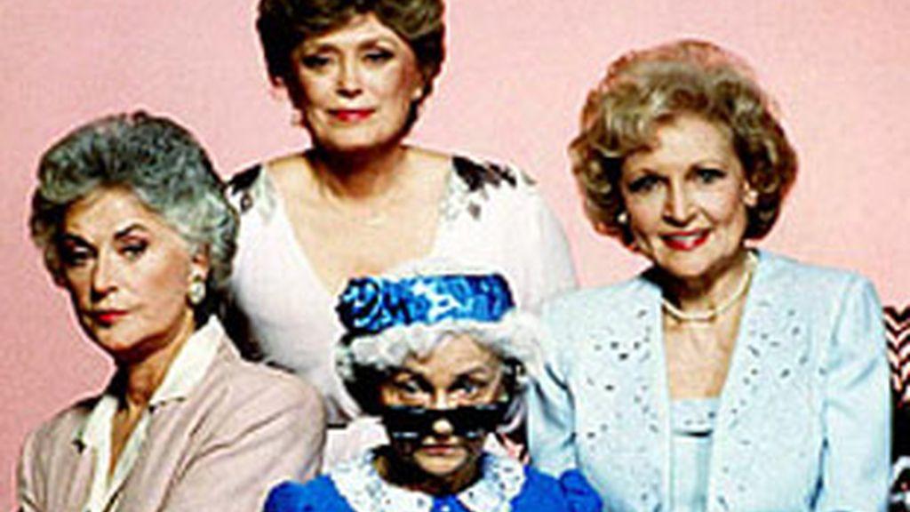 'Las chicas de Oro'. En el centro, Estelle Getty.
