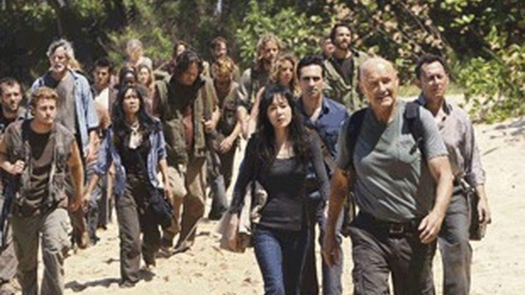 Imagen de la quinta temporada de 'Perdidos'.