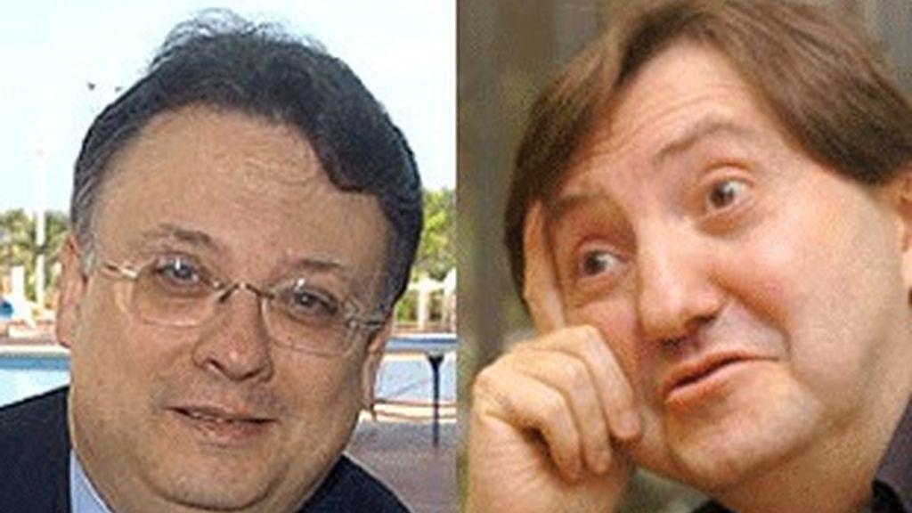 César Vidal (izquierda) y Federico Jiménez Losantos.