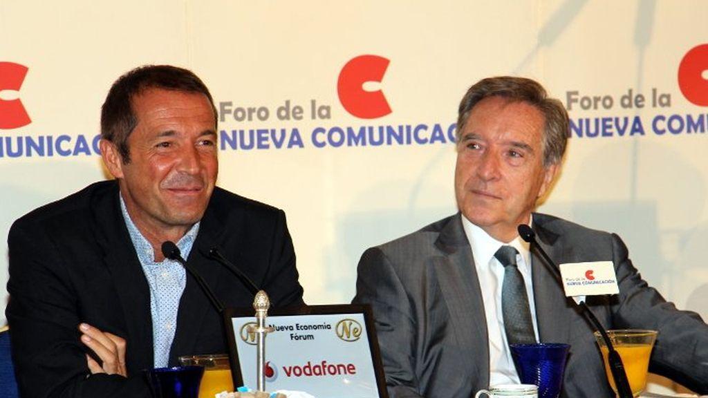 Manu Carreño e Iñaki Gabilondo