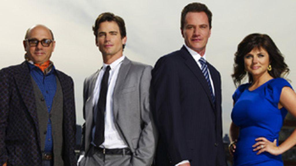 Protagonistas de 'Ladrón de guante blanco' ('White Collar').