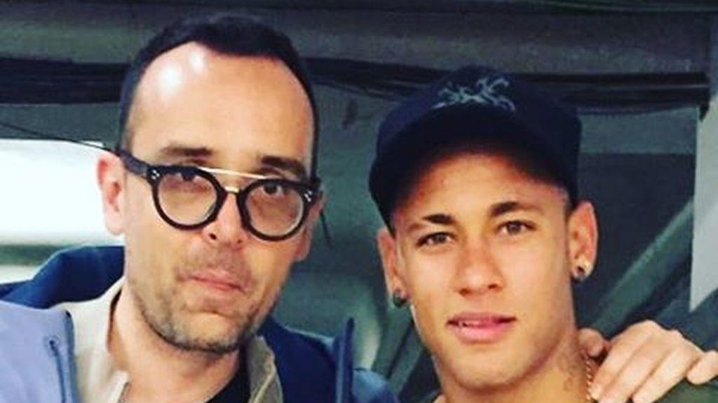 Risto Mejide y Neymar