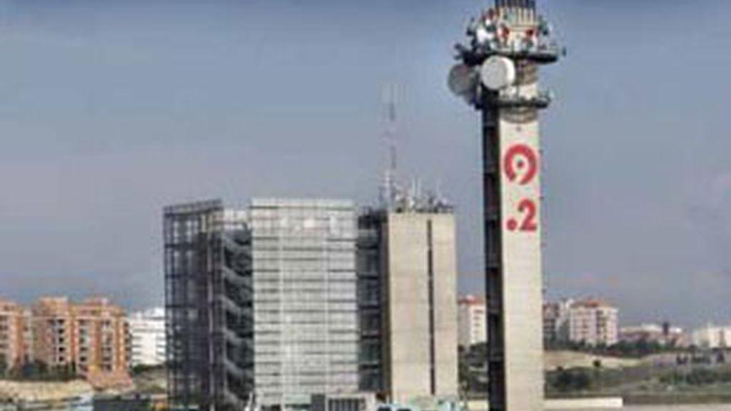 Sede de Canal 9 en Paterna (Valencia).