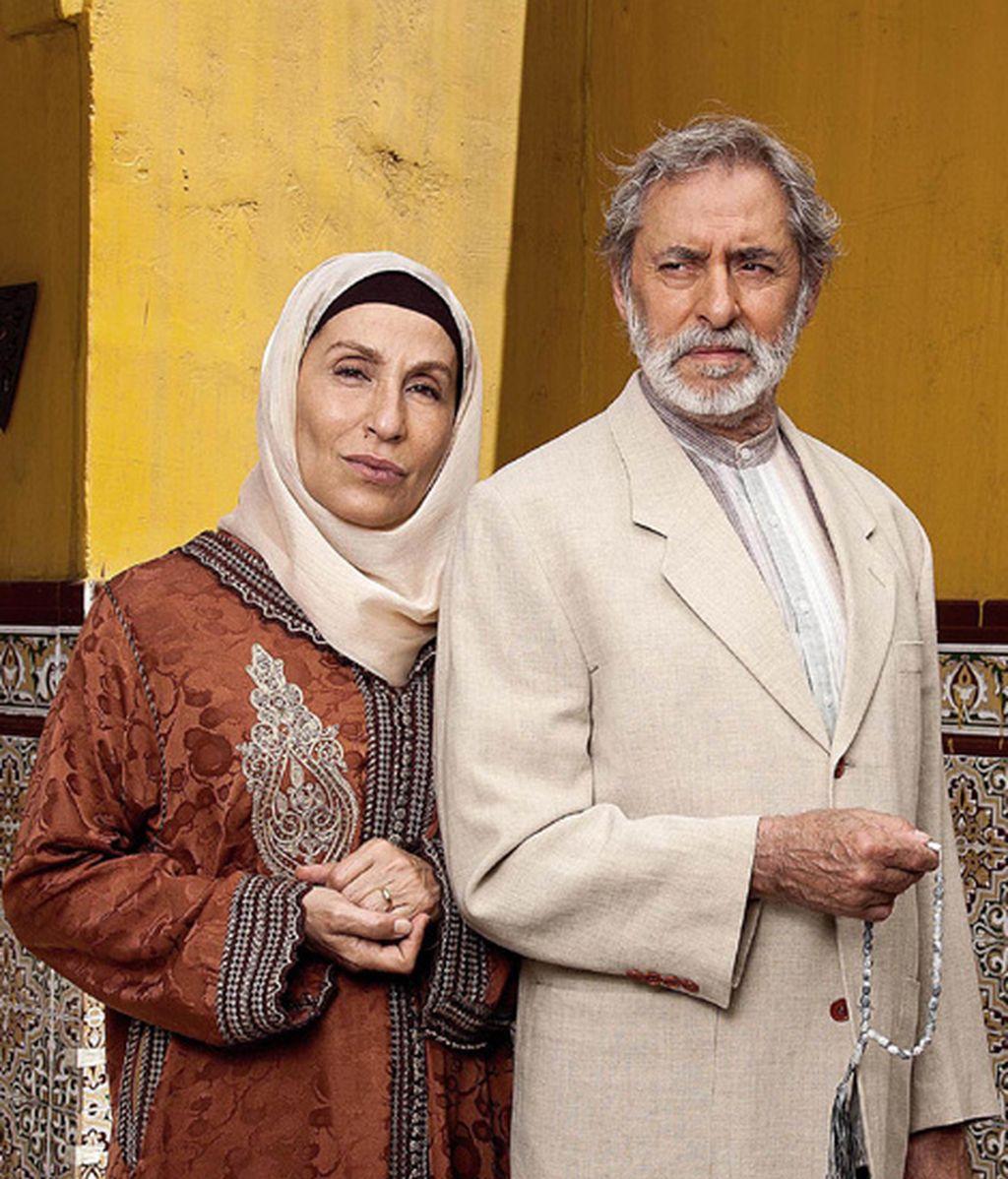 Mercé Montalá (Aisha) y Tomás Calleja (Hassan), los padres de Fátima