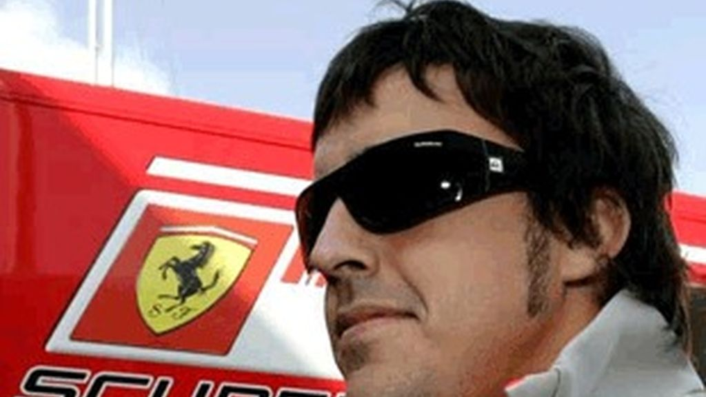 El piloto de Fórmula 1 Fernando Alonso.