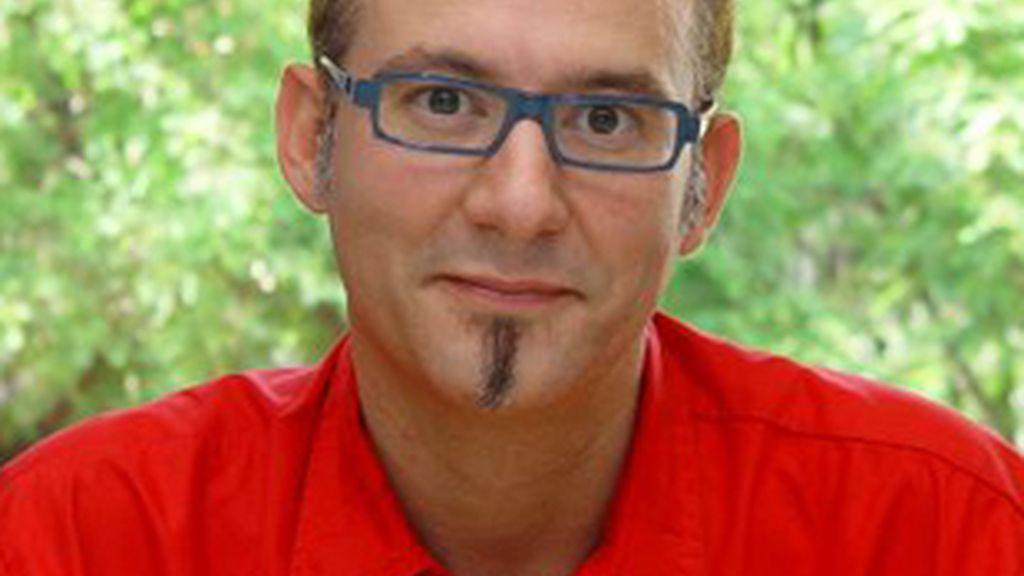Pere Mas, presentador de 'Tot és molt confus'