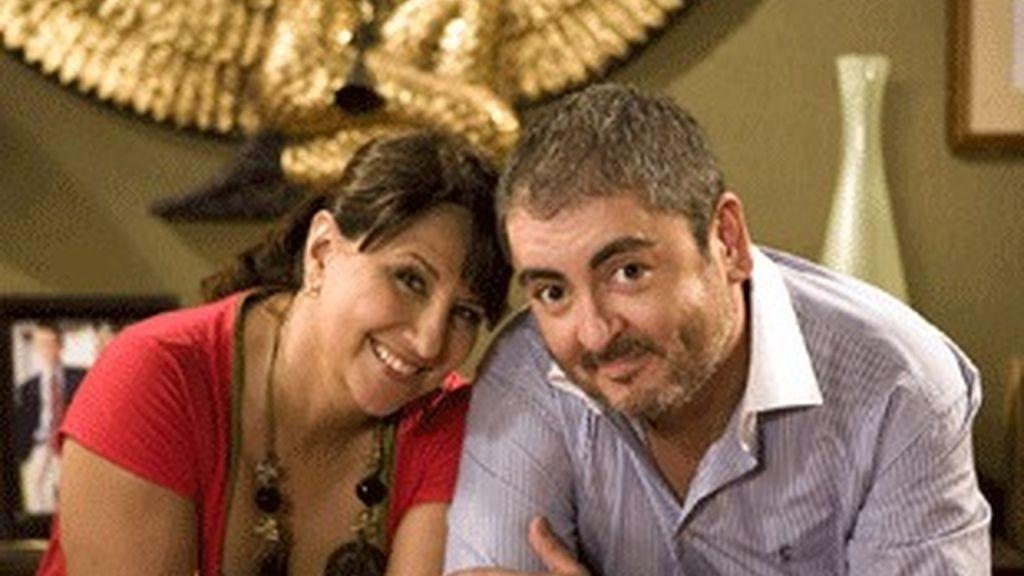 Soledad Mallol y David Muro, una de las parejas protagonistas de 'Escenas de matrimonio'.