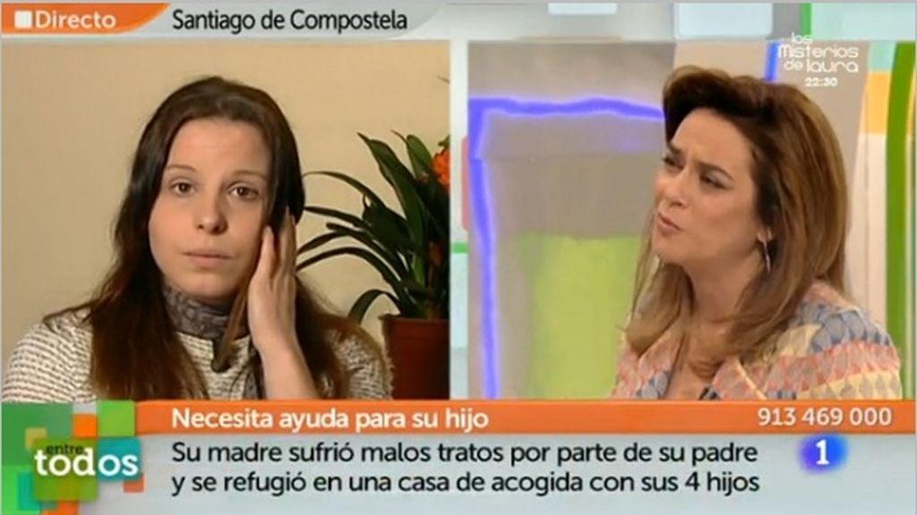 Toñi Moreno en 'Entre todos'