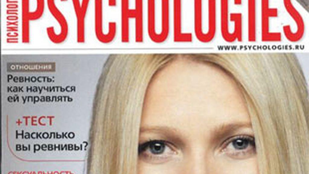 Portada de la revista ''Psycologies'.