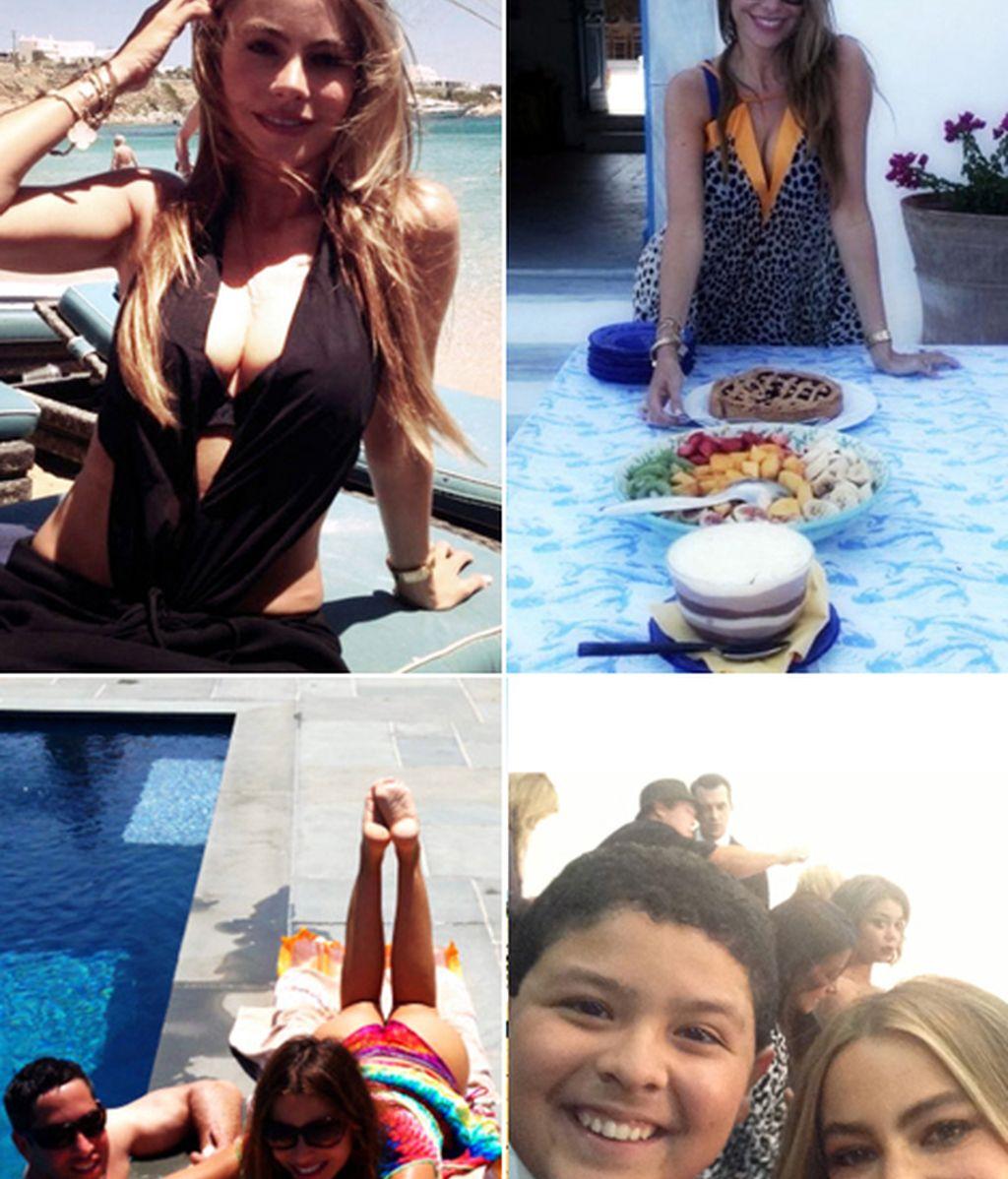 Sol, agua, amigos y comida