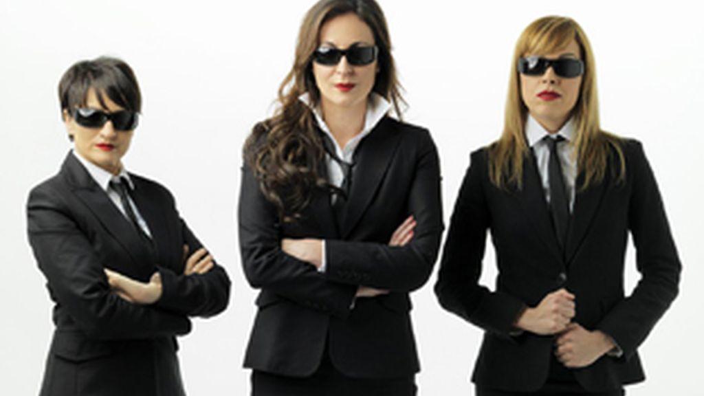 (De izq. a der.) Silvia Abril, Ana Millán y Tania Sarrias.