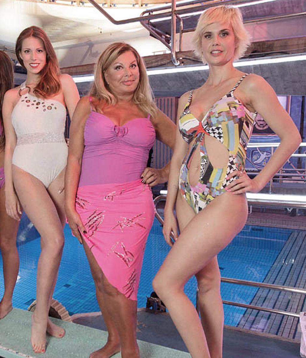 Andrea Huisgen, Olivia Valere y Miriam Sánchez