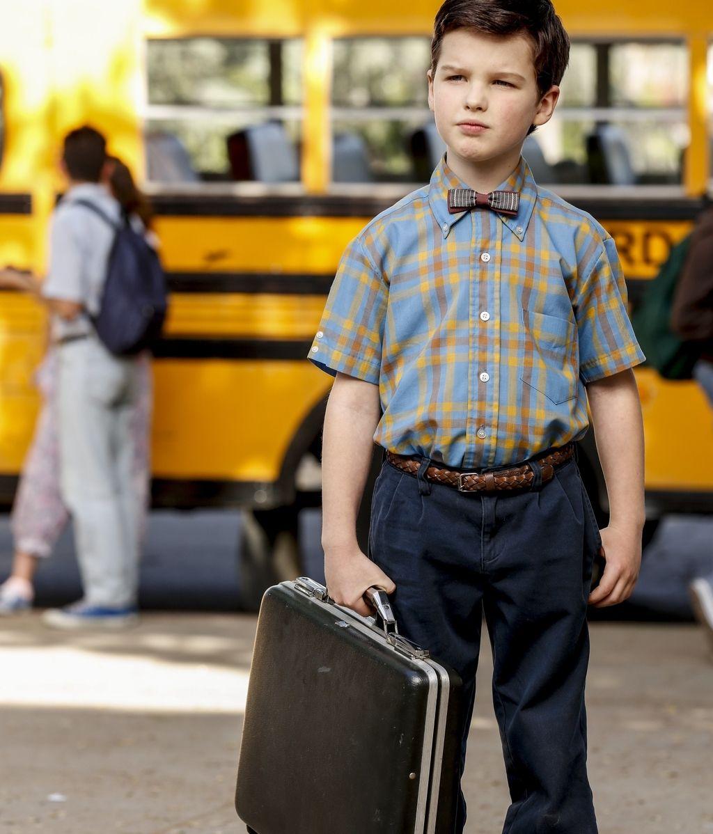 Ian Armitage es 'El joven Sheldon'