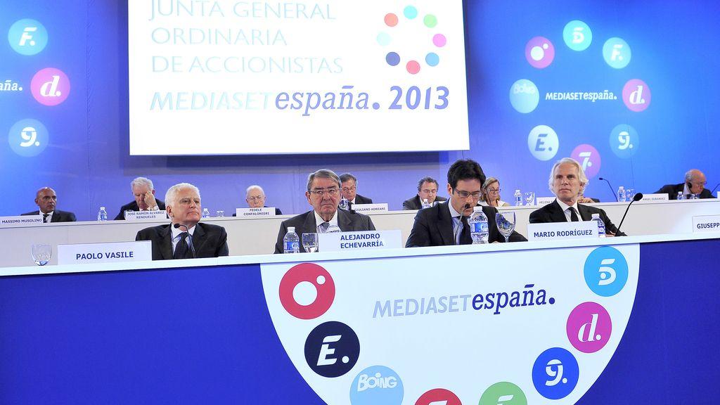 Junta Accionistas Mediaset España