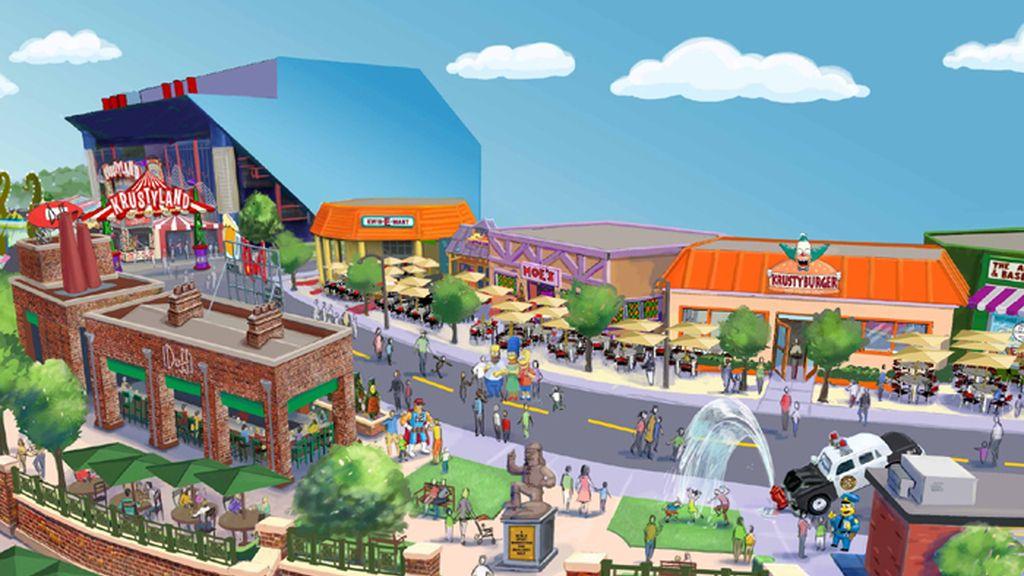 'Los Simpson' tendrán parque temático
