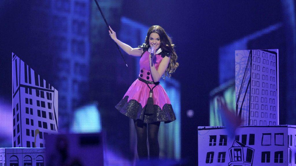 Eurovisión 2011. Estonia