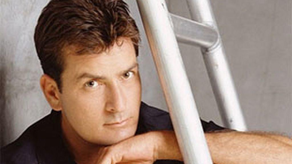Charlie Sheen, protagonista de 'Dos hombres y medio'.