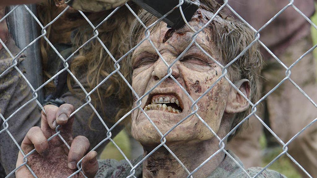 'The walking dead' bate récord en el estreno de la cuarta temporada