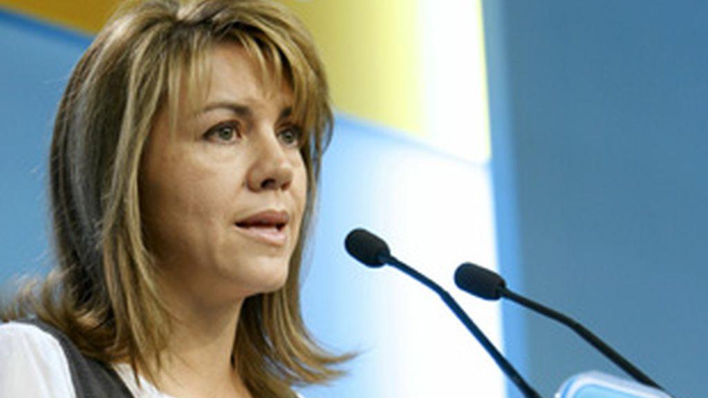 María Dolores de Cospedal, presidenta del PP de Castilla-La Mancha.