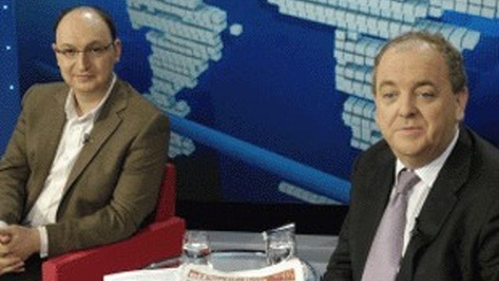 Fran Llorente (izquierda) y Javier Pons.
