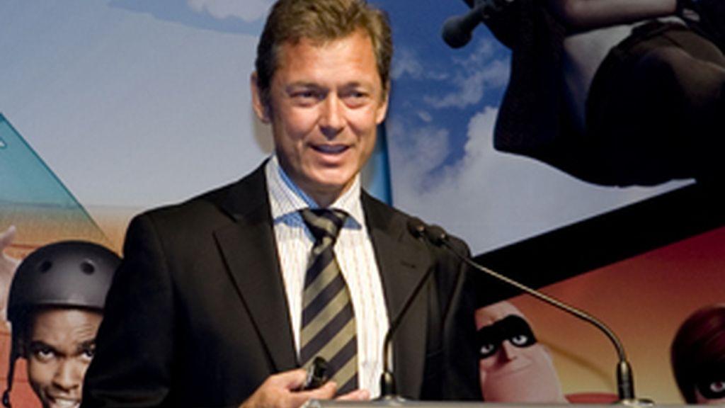José Vila, vicepresidente y director de los canales de Disney, en la presentación de la temporada 2010-2011.
