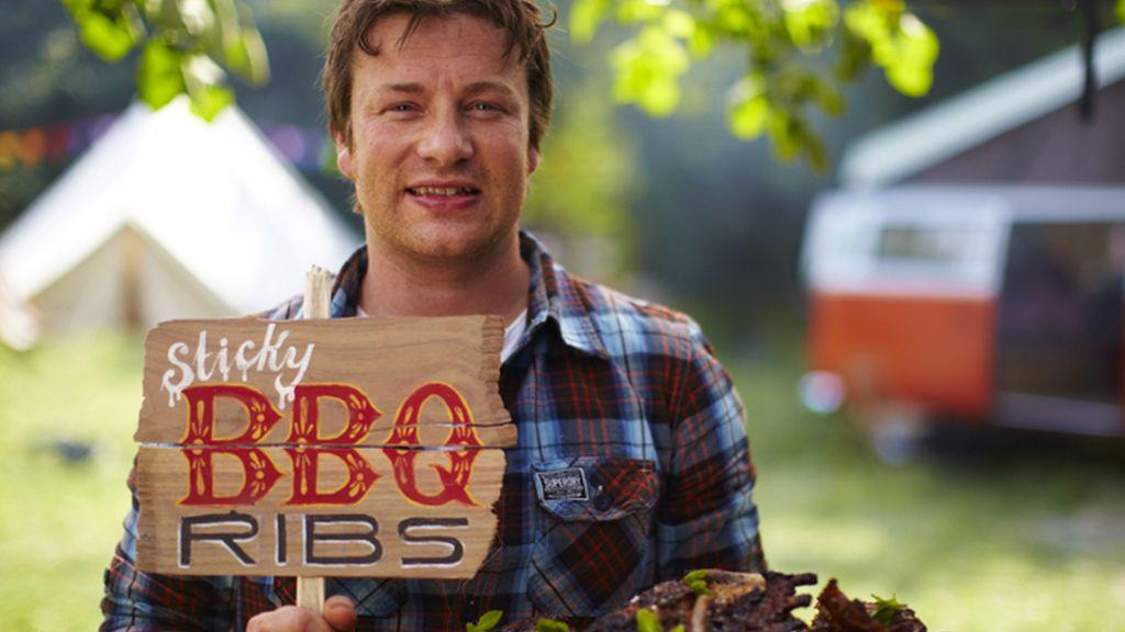 Música y gastronomía al aire libre en 'La cocina de verano de Jamie'
