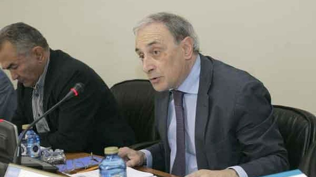 el director xeral de la CRTVG, Alfonso Sánchez Izquierdo