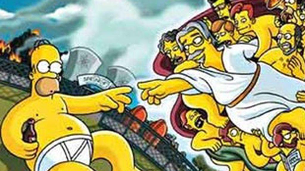 'Los Simpsons' (Antena 3).