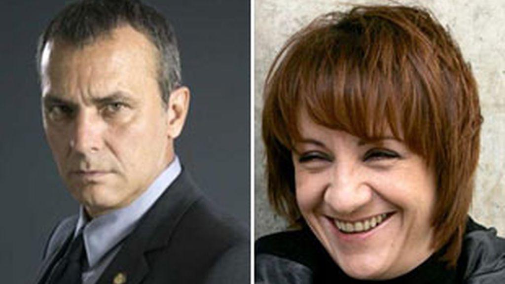 José Coronado y Blanca Portillo, protagonistas de 'Acusados'.
