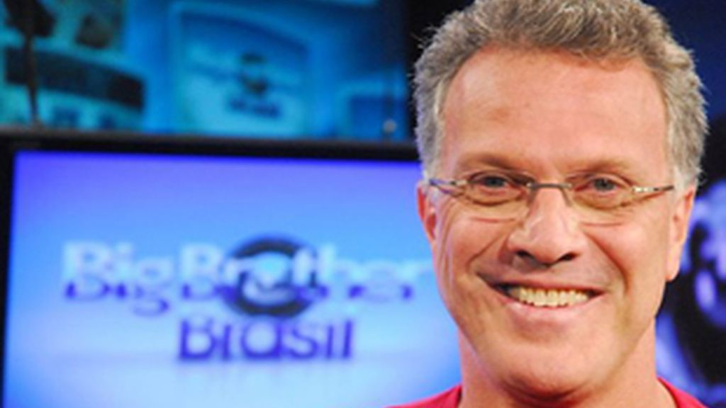 Pedro Bial, presentador de 'Big Brother', el Gran Hermano brasileño.