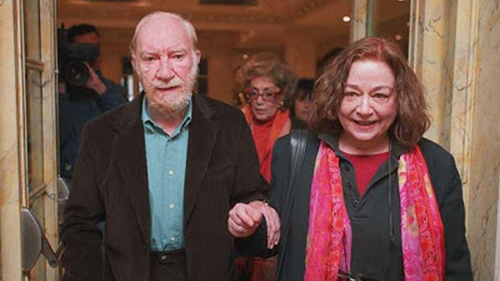 Emma Cohen y Fernando Fernán Gómez
