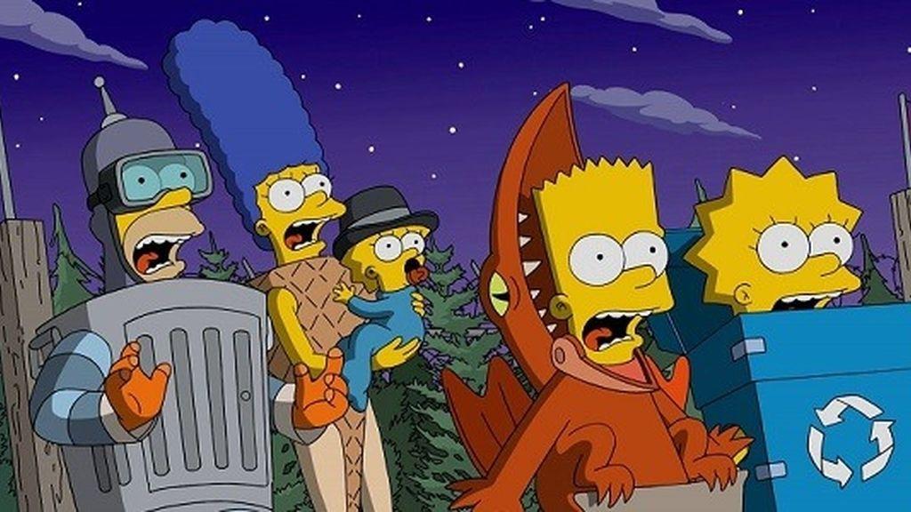 Capítulo 600 de Los Simpson en realidad virtual