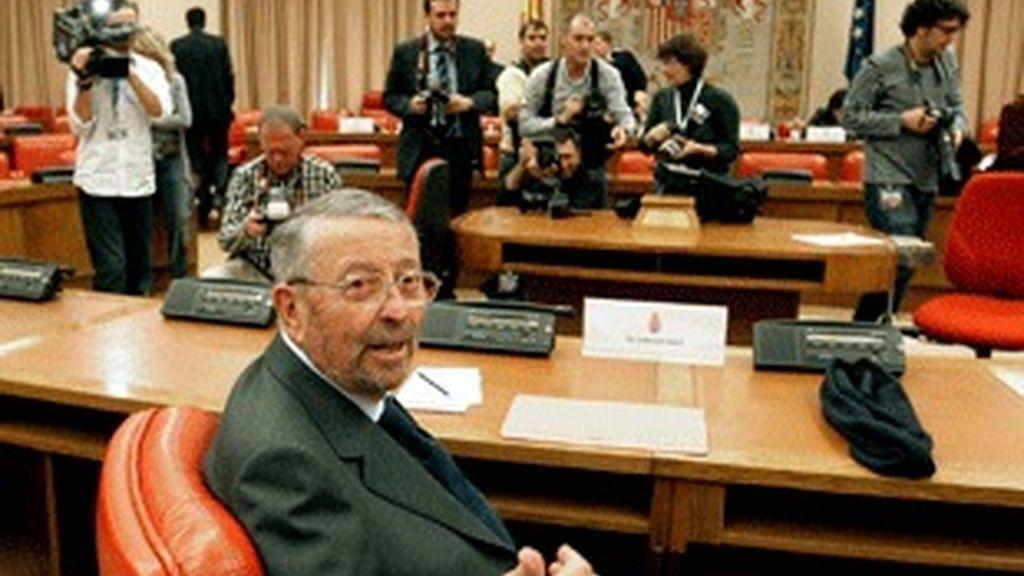 Alberto Oliart, en el Congreso.