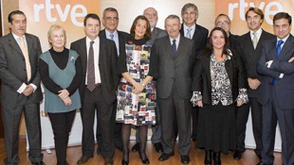 Miembros del consejo de administración de RTVE.