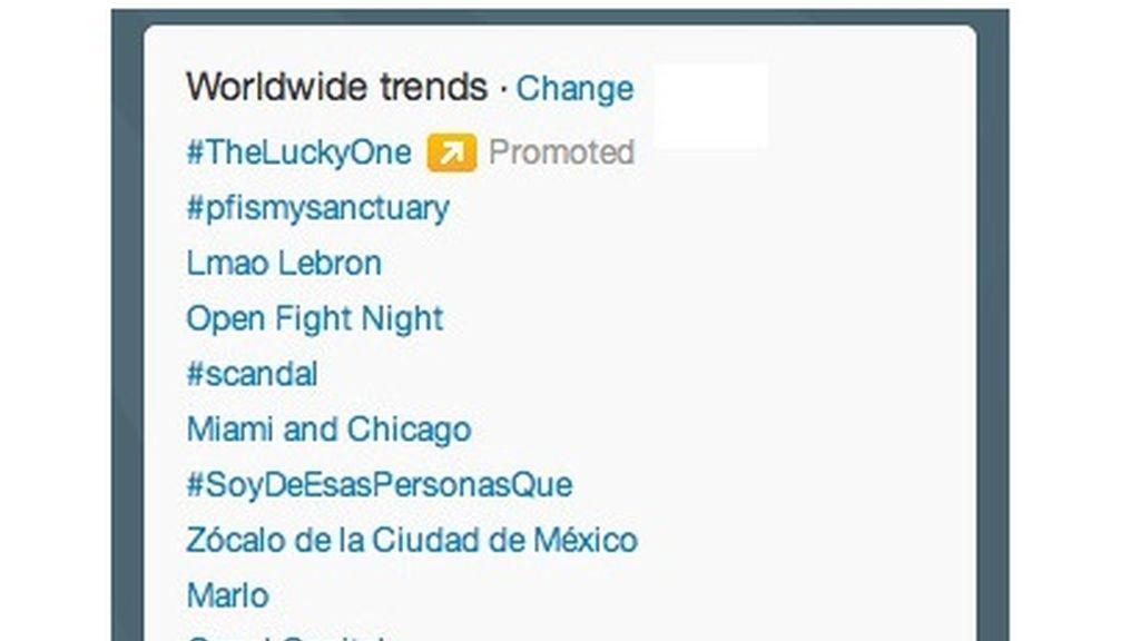 Twitter Trending Topic promocionado