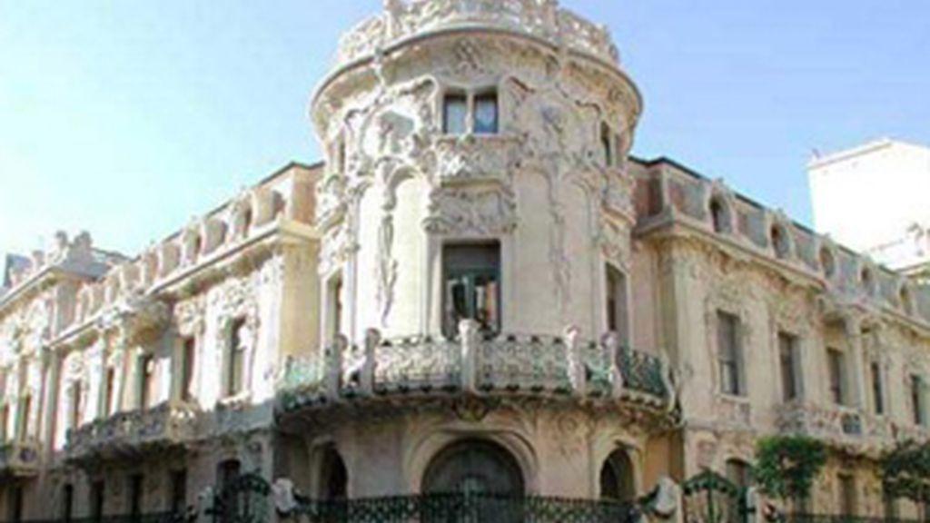 Edificio de la SGAE en Madrid.
