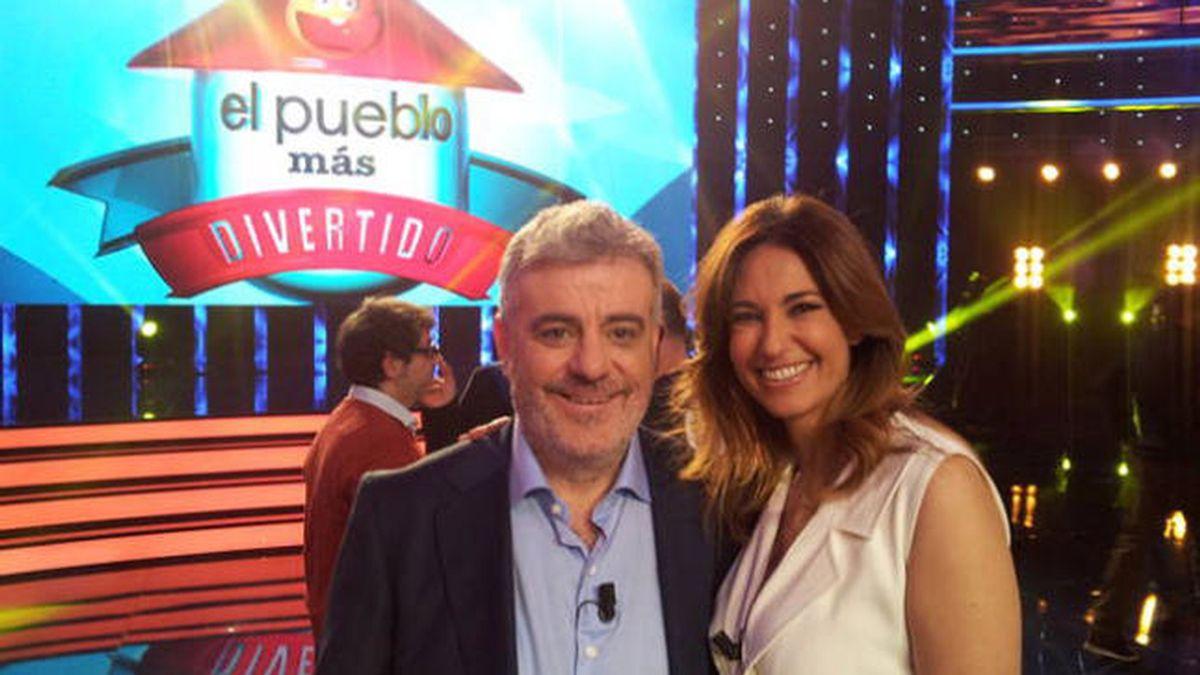 Millán Salcedo y Mariló Montero en 'El pueblo más divertido' de España