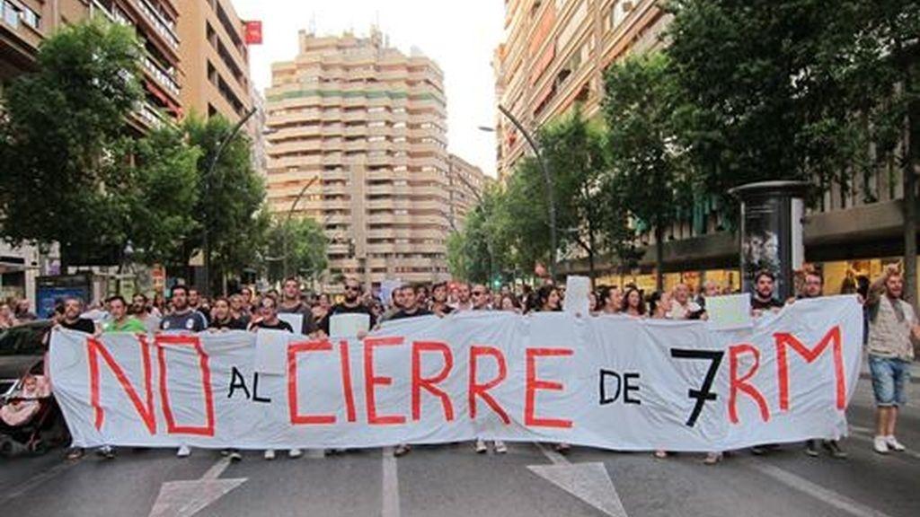 Cierre Murcia
