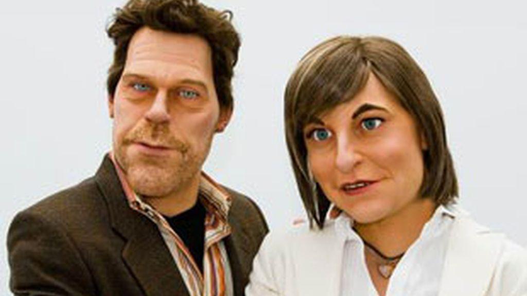 Los guiñoles de Eva Hache y el Doctor House