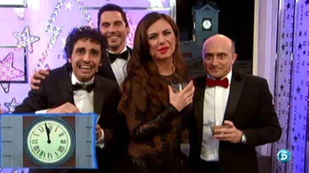 Las campanadas de nochevieja en Telecinco