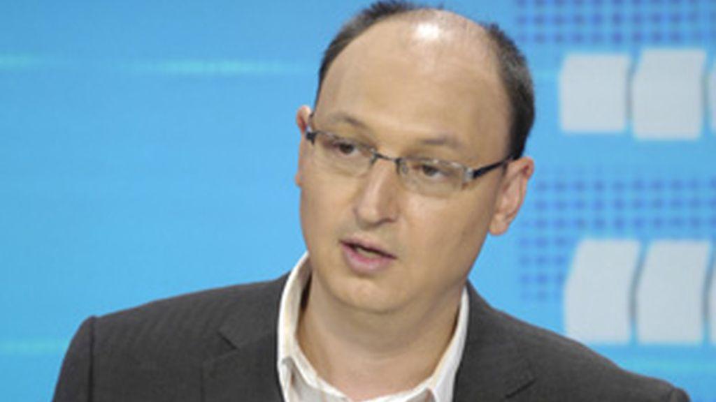 Fran Llorente, director de Informativos de TVE.